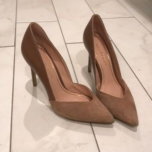 Enzo Angiolini two toned heels